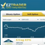 Sell Option bei EZTrader