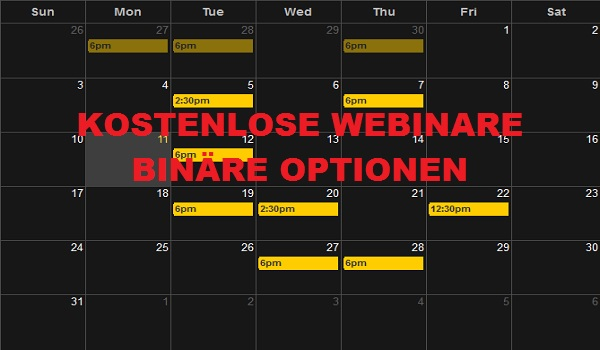 Online binary option trading tipps