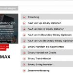 Videos mit Optionsstrategien beim Broker Finmax